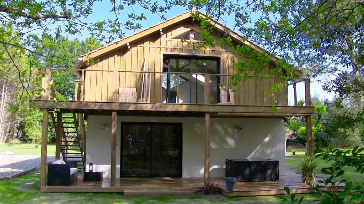 Landes Grange Eco Lodge France
