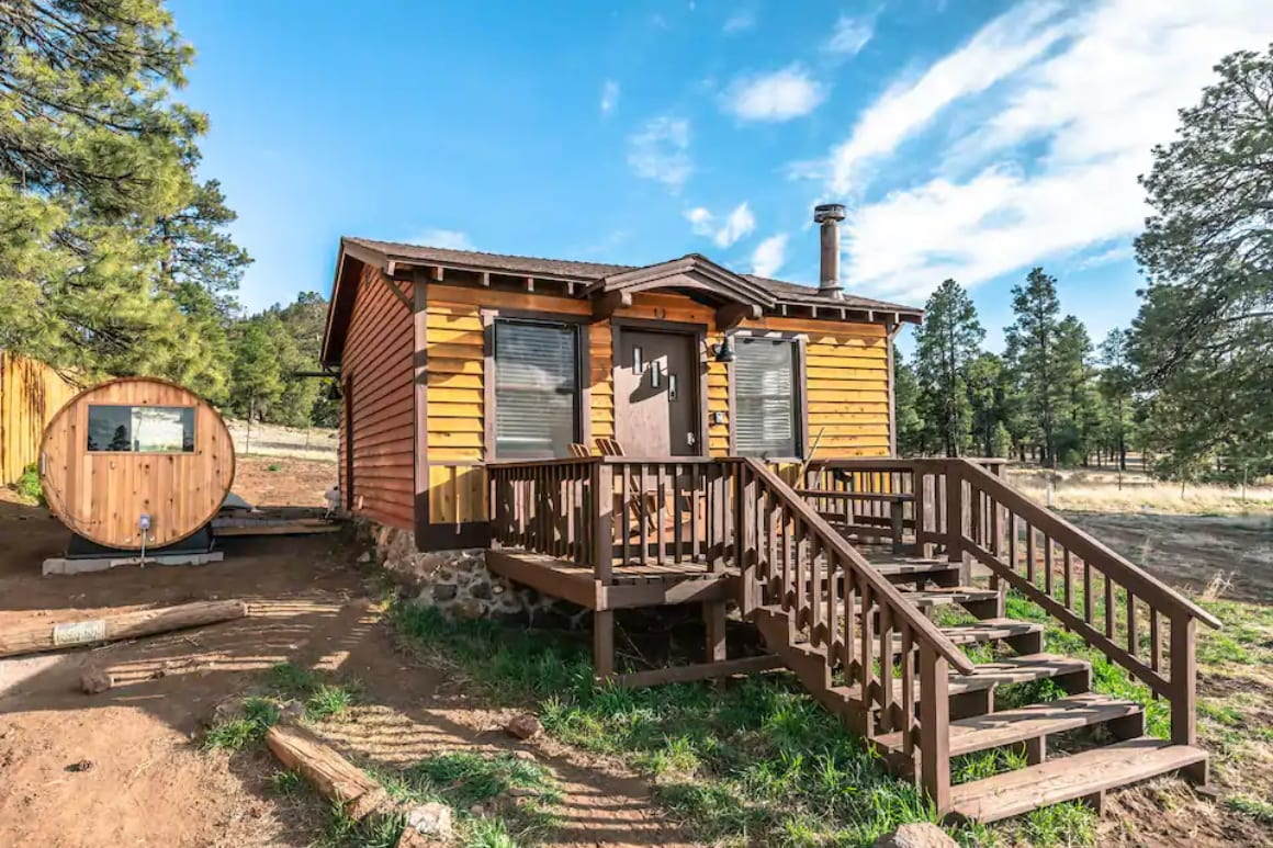 Mountain View Coconino National Forest Cabin