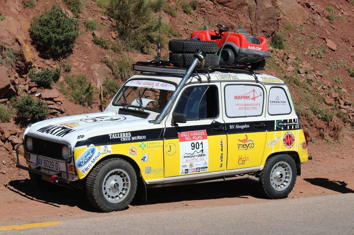 Renting a car in Morocco