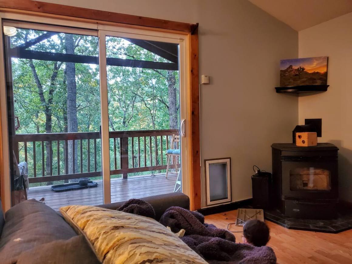 Shenandoah Valley Treetop Cabin