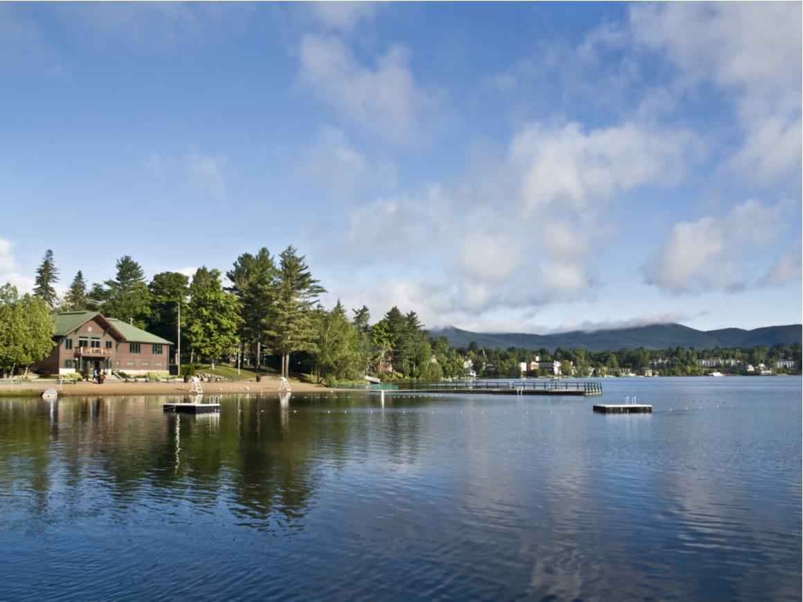 Mirror Lake, Lake Placid