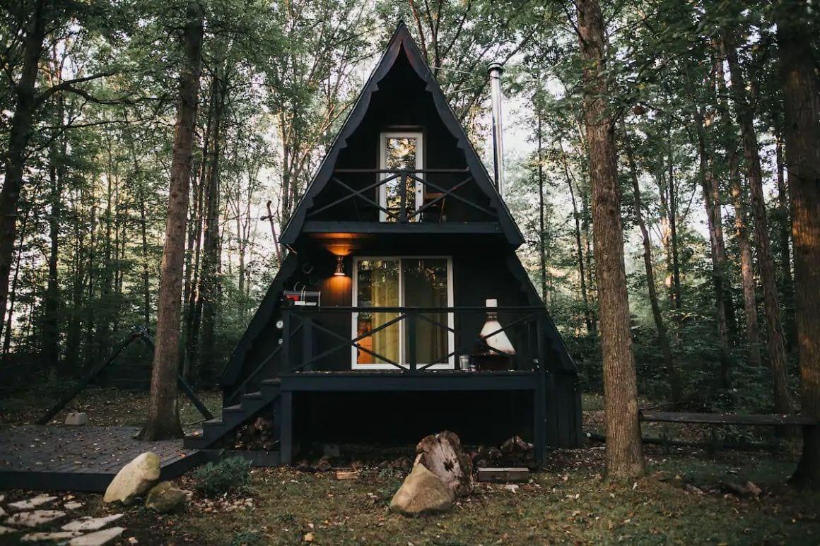 The Triangle: A-Frame Cabin Retreat Ohio