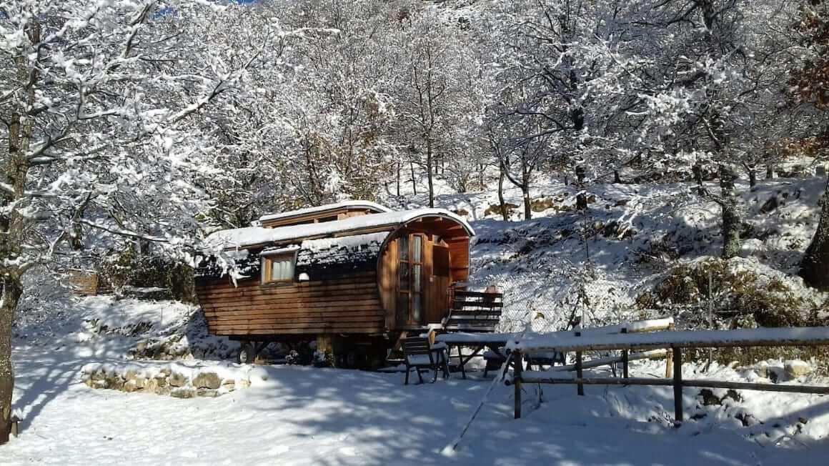 Tiny House Eco Lodge France