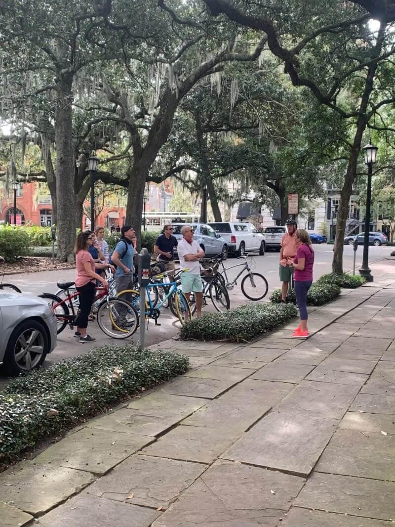 Bicycle Tours of Historic Savannah
