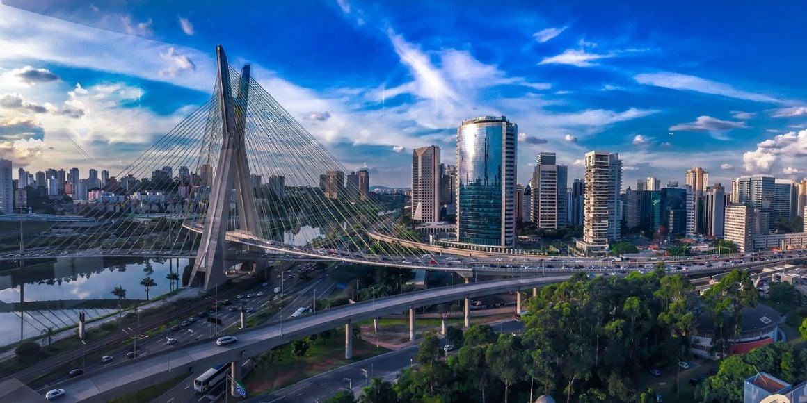 Brazil downtown