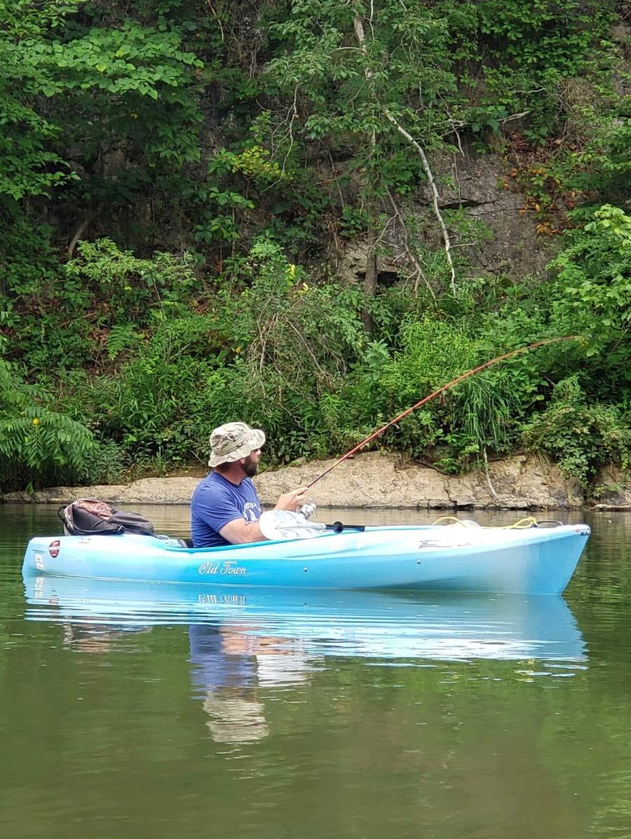 Guided Kayak Bass Fishing Experience Lexington