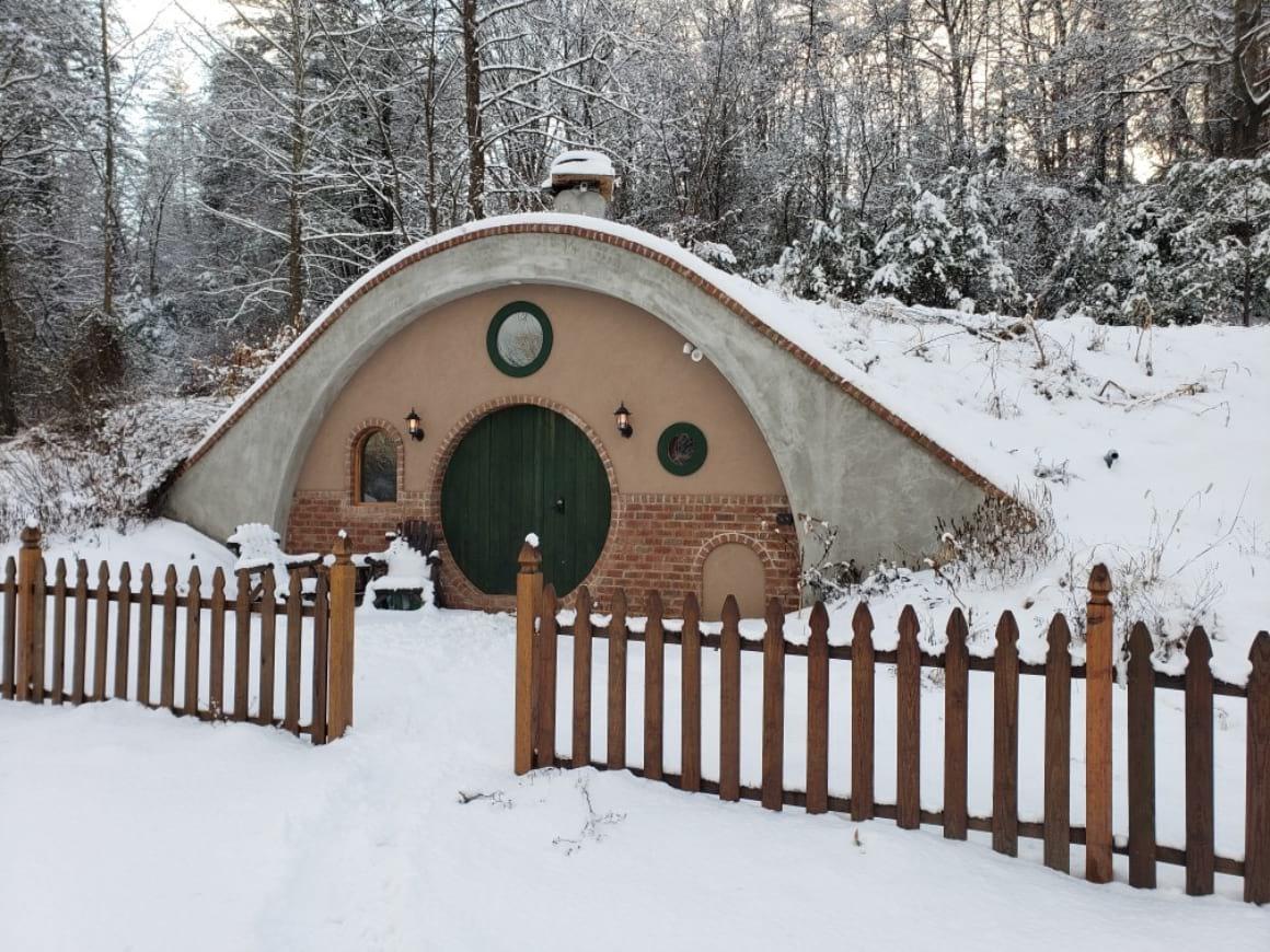 Hobbit Style Cabin
