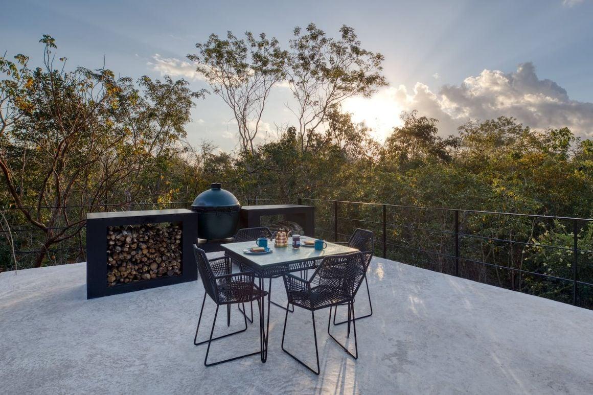 Jungle Villa at Glass 20.87 Eco Resort Cancun