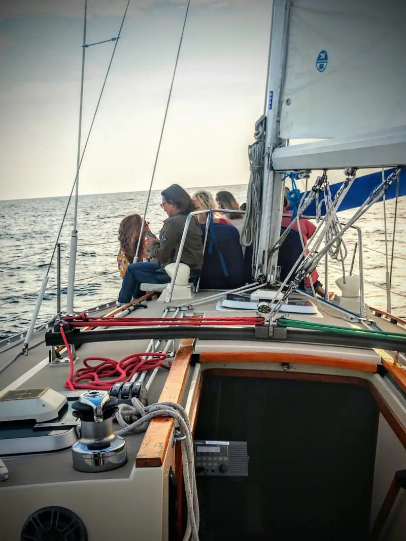 Lake Michigan Sailing in Douglas