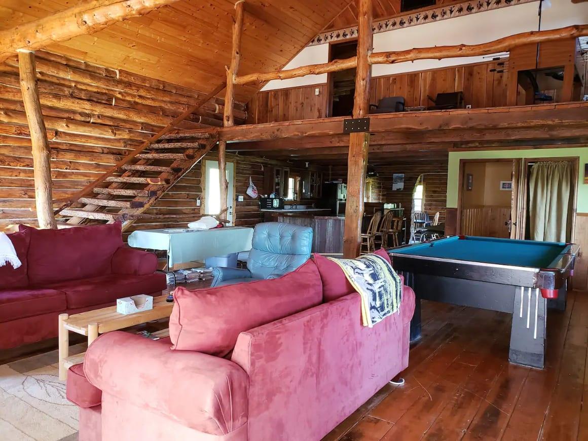 Larsen Farm Log Cabin