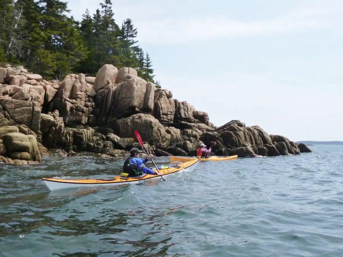 Sea Kayak the Brooklin Islands in Brooklin, Maine