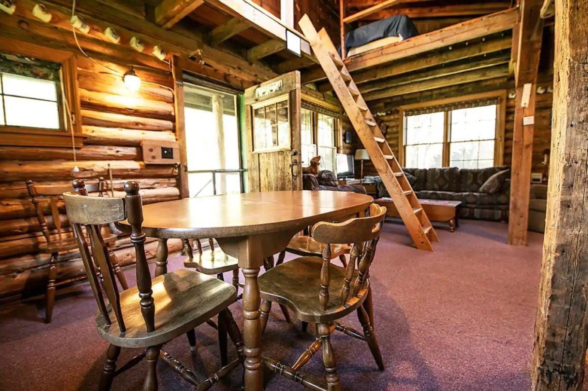 The Cabin in Skowhegan, Maine