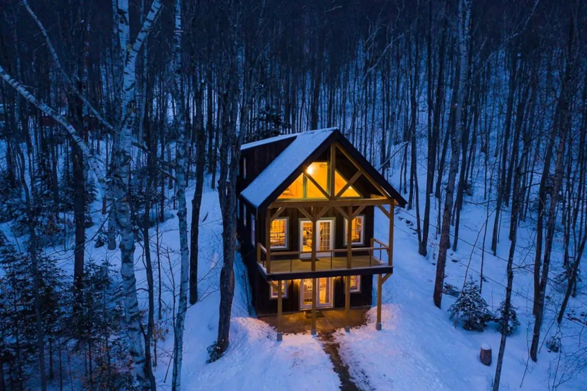 A Cabin in Jackson, New Hampshire