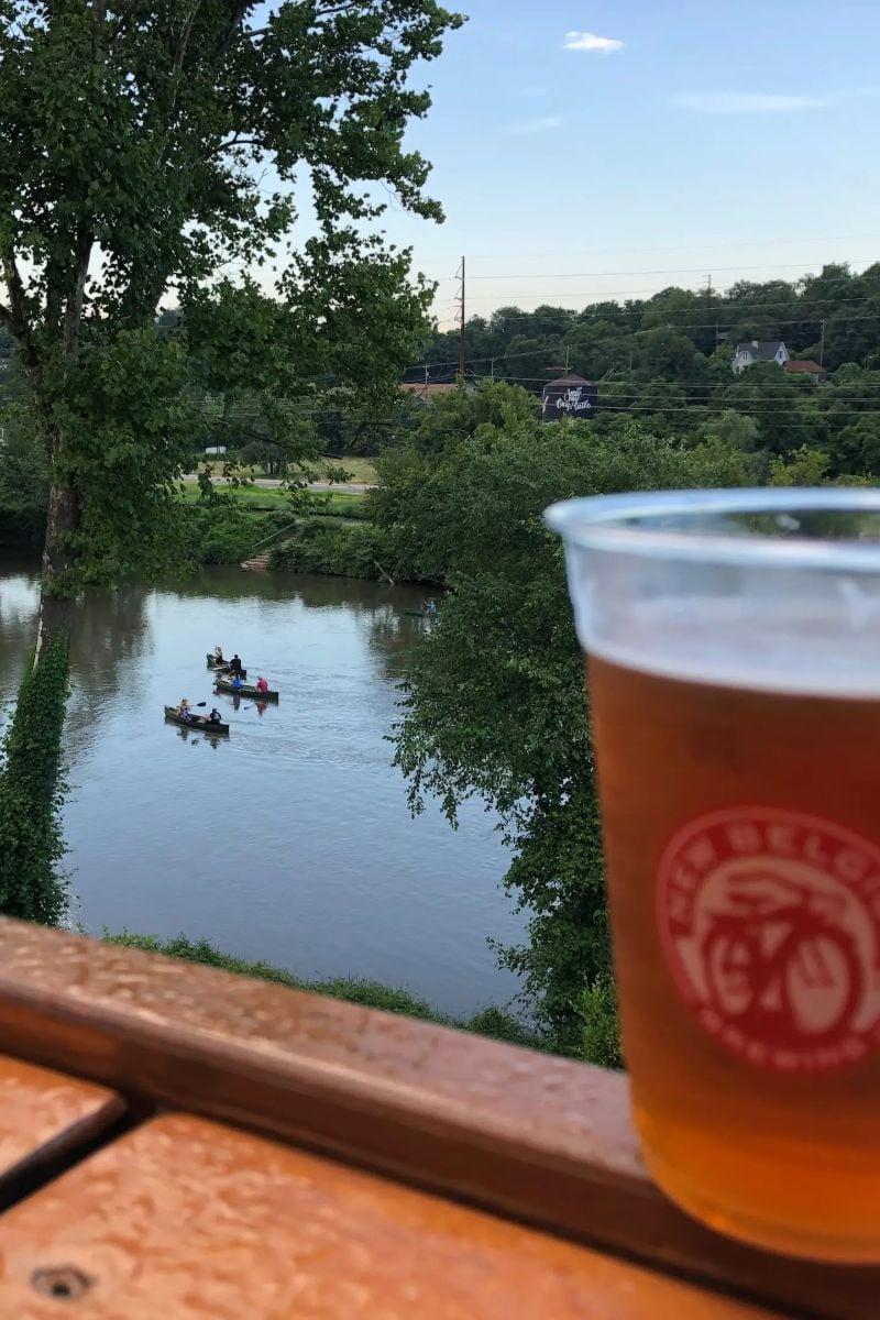 Canoe to Craft Breweries Asheville, North Carolina