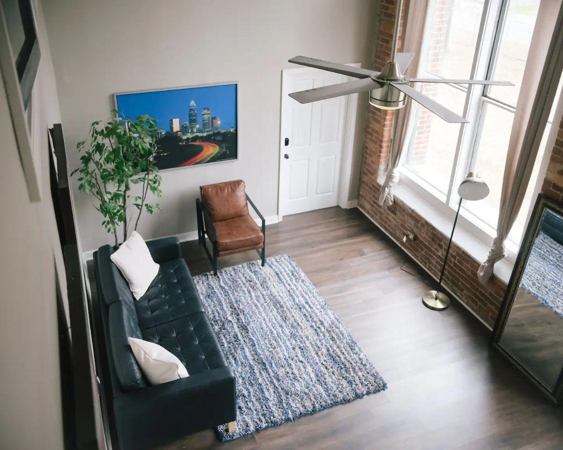 Loft Style Suite in Charlotte, North Carolina