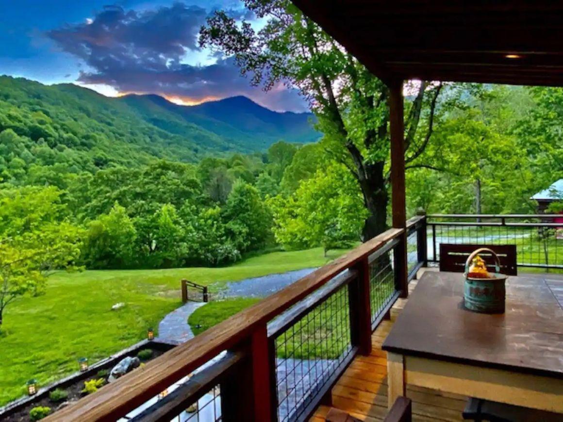 Rustic Mountain Studio, North Carolina