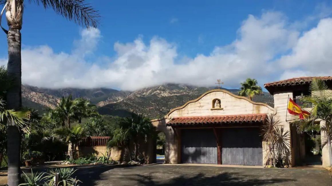 Spanish Mission style private home Santa Barbara