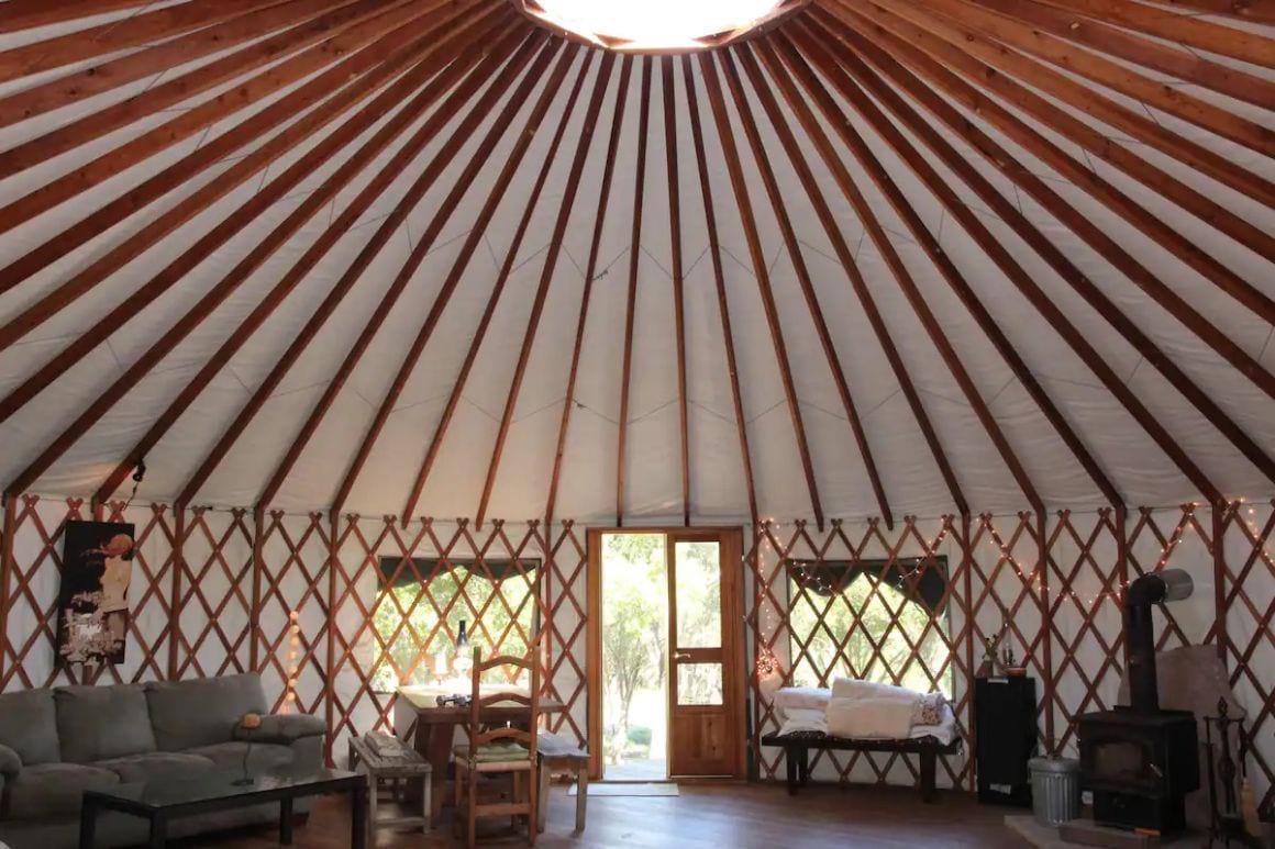Stunning exclusive yurt Santa Barbara