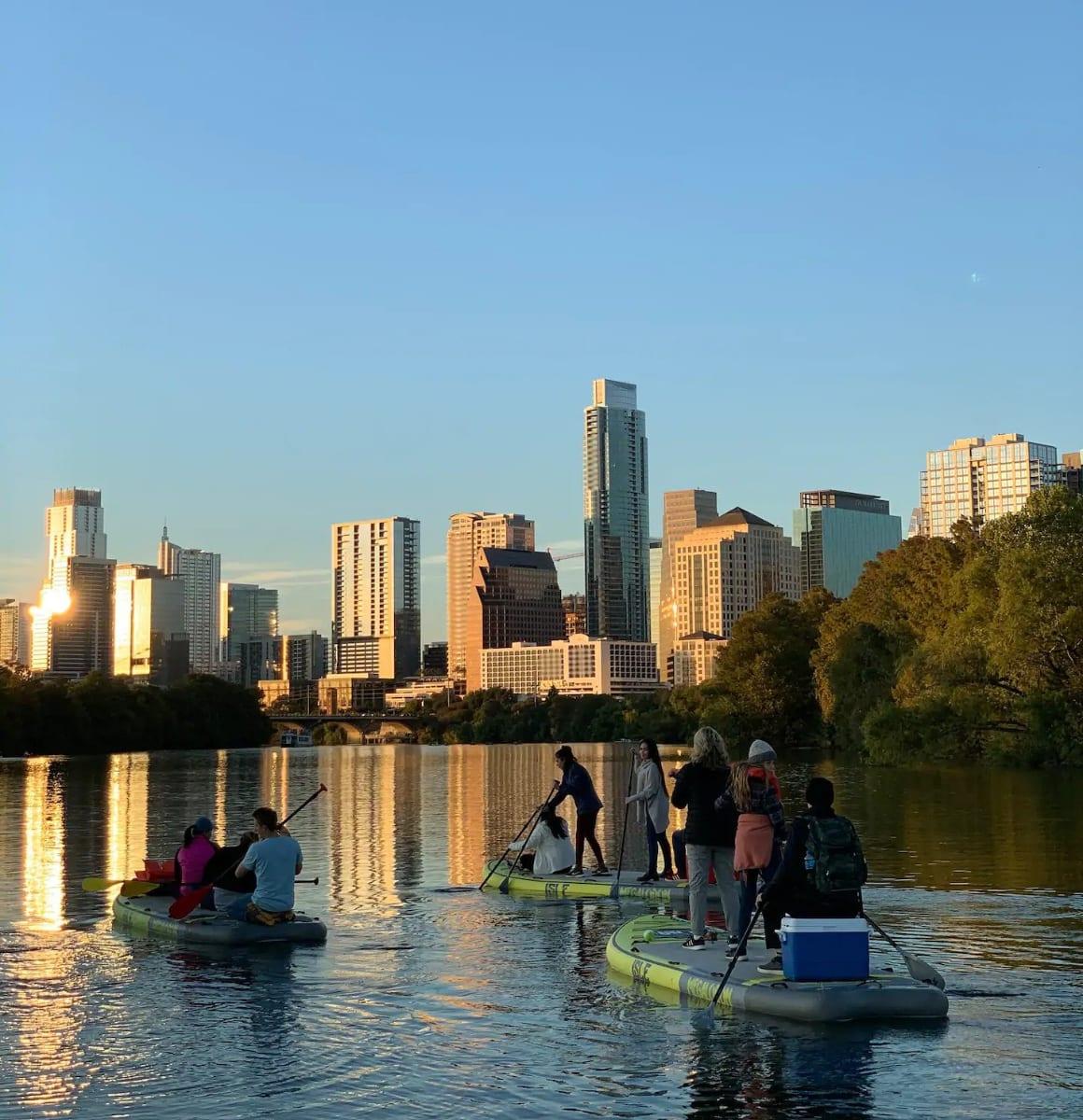 Sunset Paddle, Austin