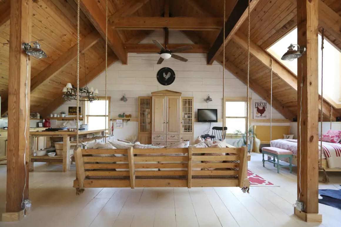 Timberframe Bunkhouse