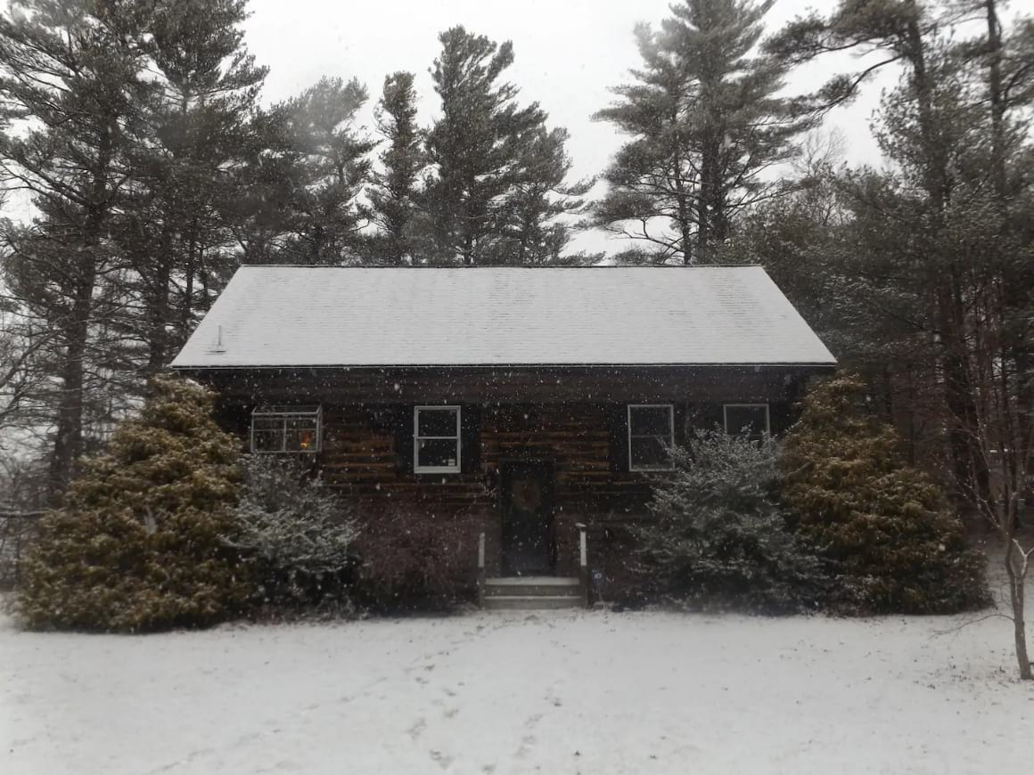 Traditional Log House