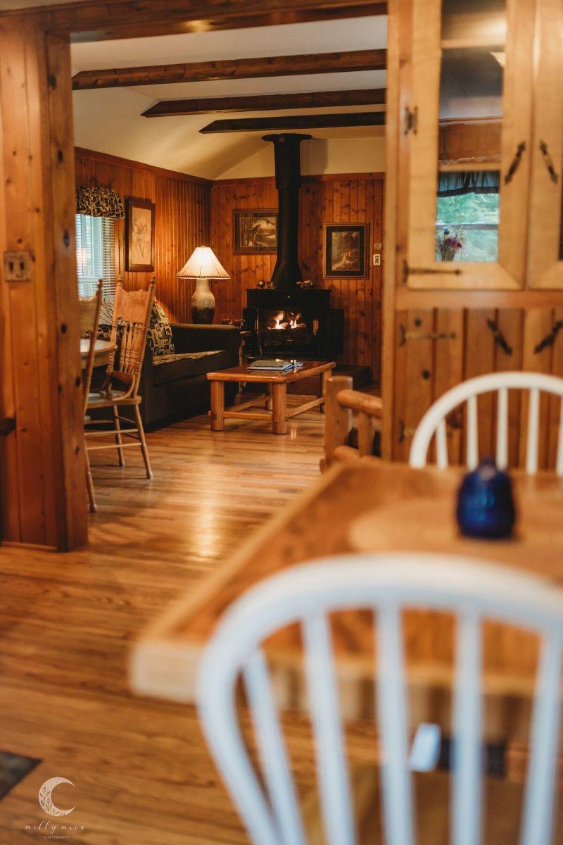 Whispering Pine Cabin Illinois