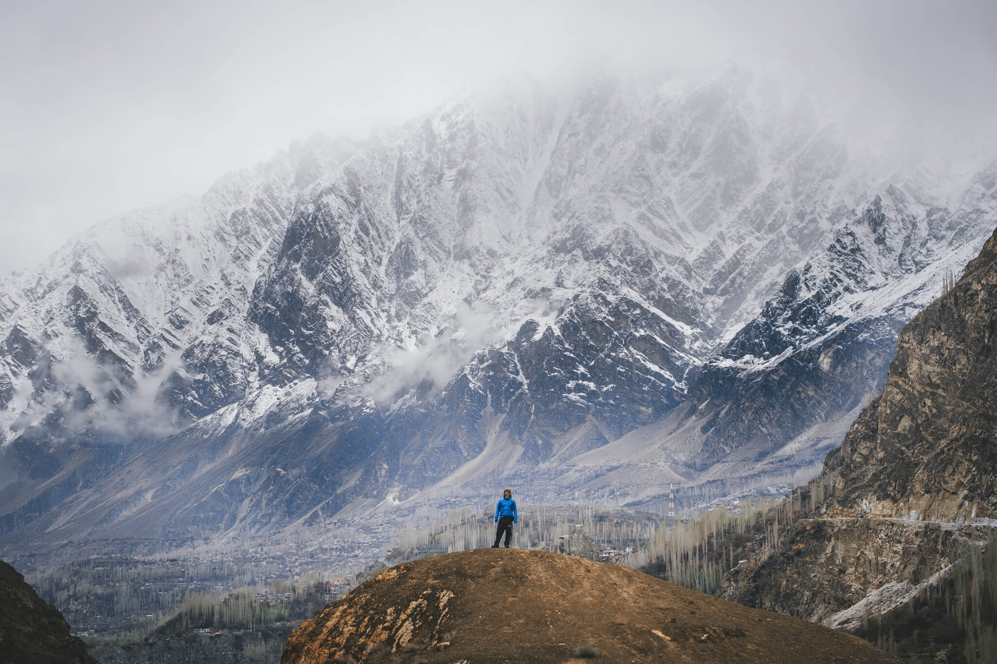 Will reflects on his life and self while below a mountain in Pakistan