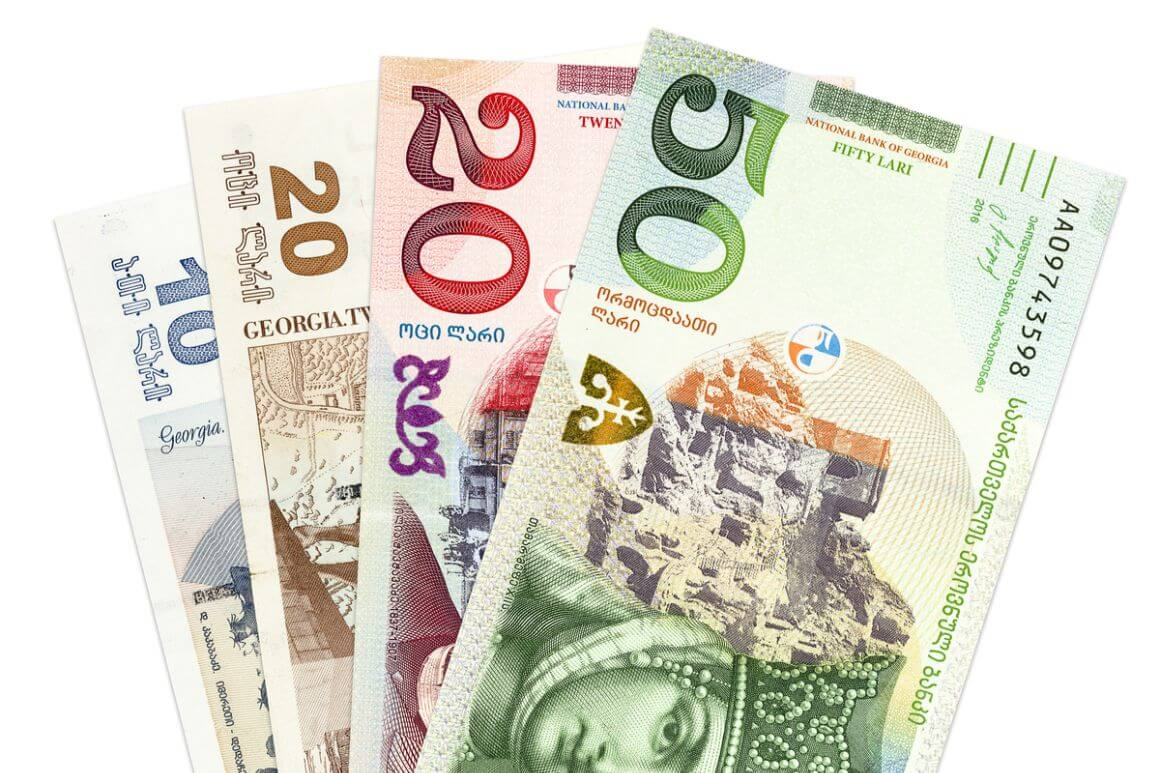 Currency in Georgia