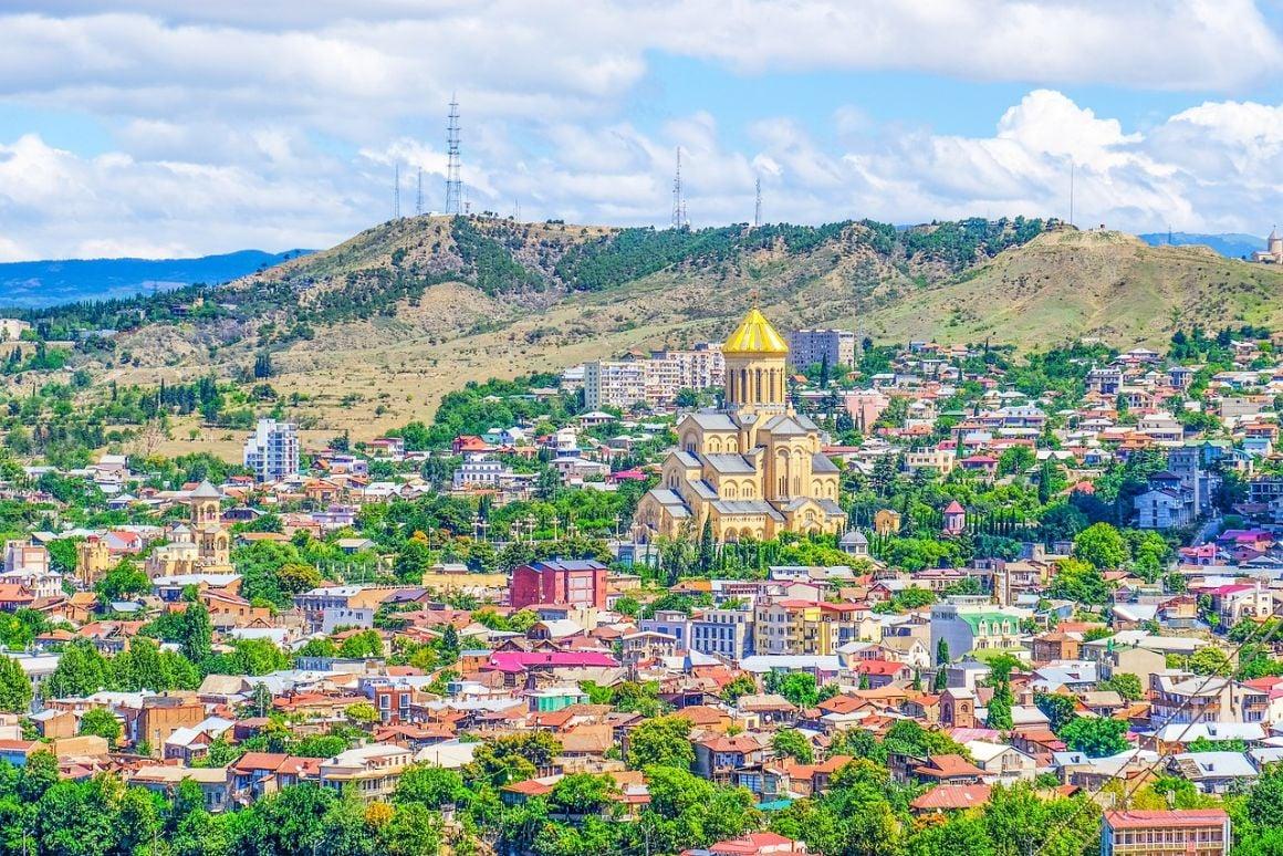 Georgia Tbilisi Hill