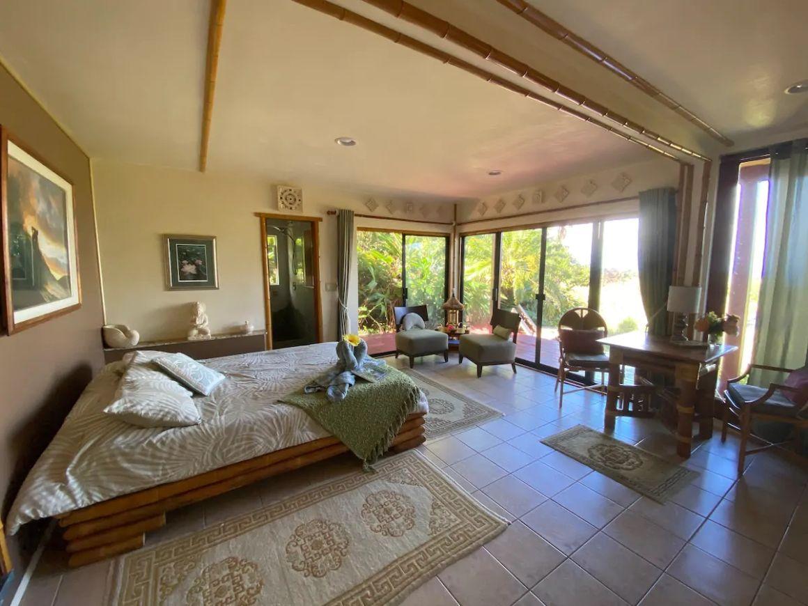 Lotus Room of Opua House Maui Eco Resort in Hawaii