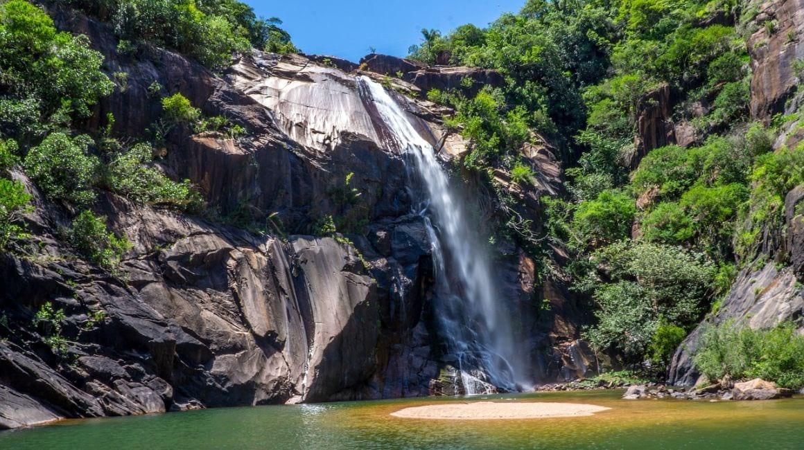 Sao Paulo Brazil Waterfall