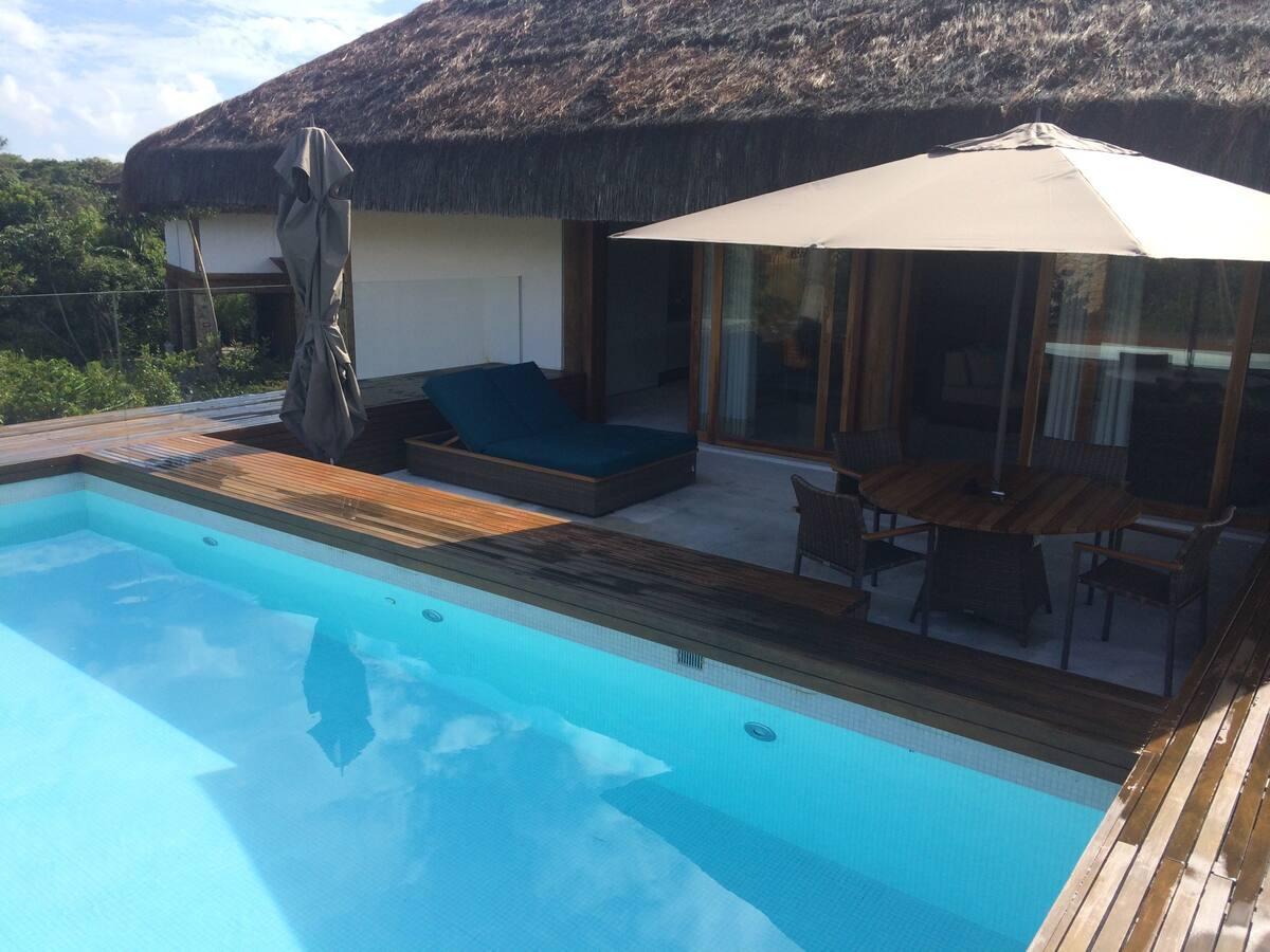 Casa paradisiaca em Praia do Forte