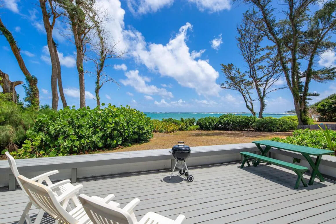 Beachfront House with Amazing Outdoor Deck