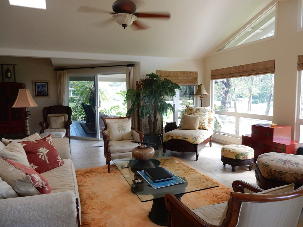 Best VRBO for a Weekend in Kauai Lakeside House with Mountain Views
