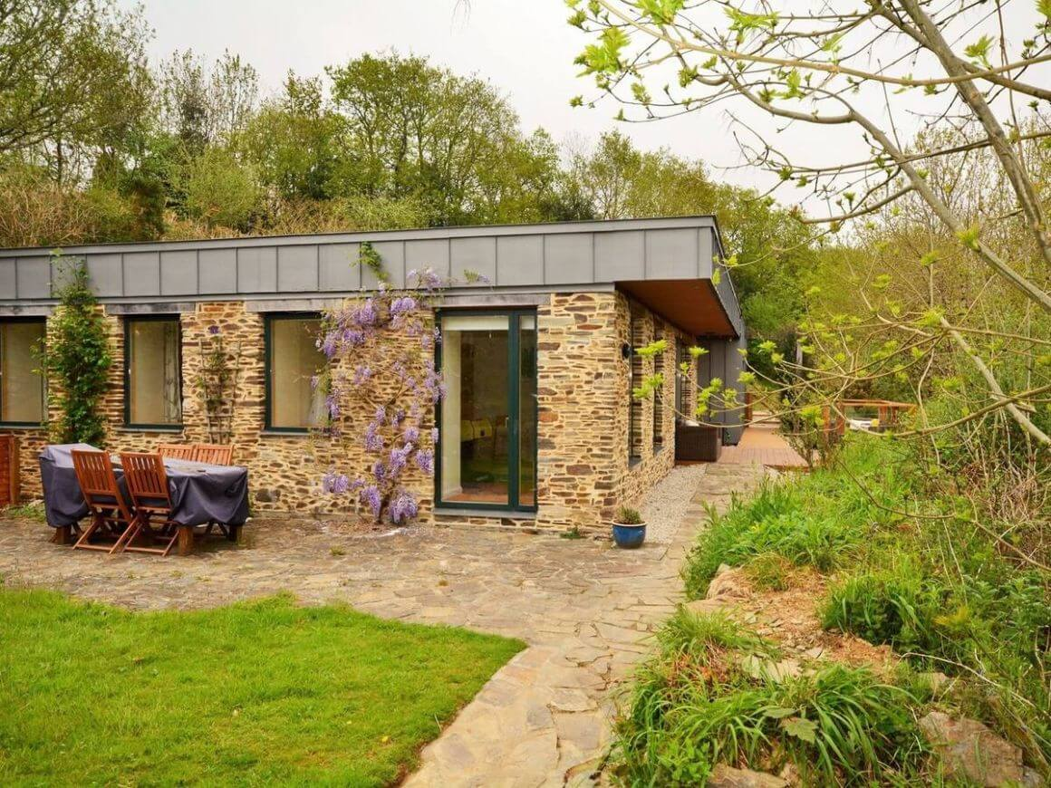 Cornish Eco Home in the Woods Cornwall