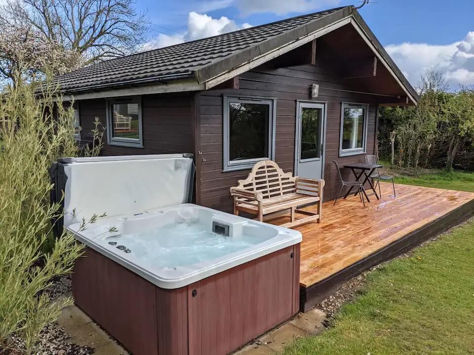 Sycamore Spa Eco Lodge Cornwall