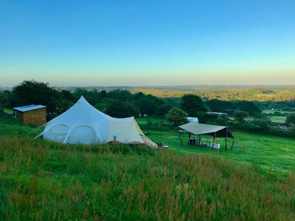 Tang at Ting Tang Camping Cornwall