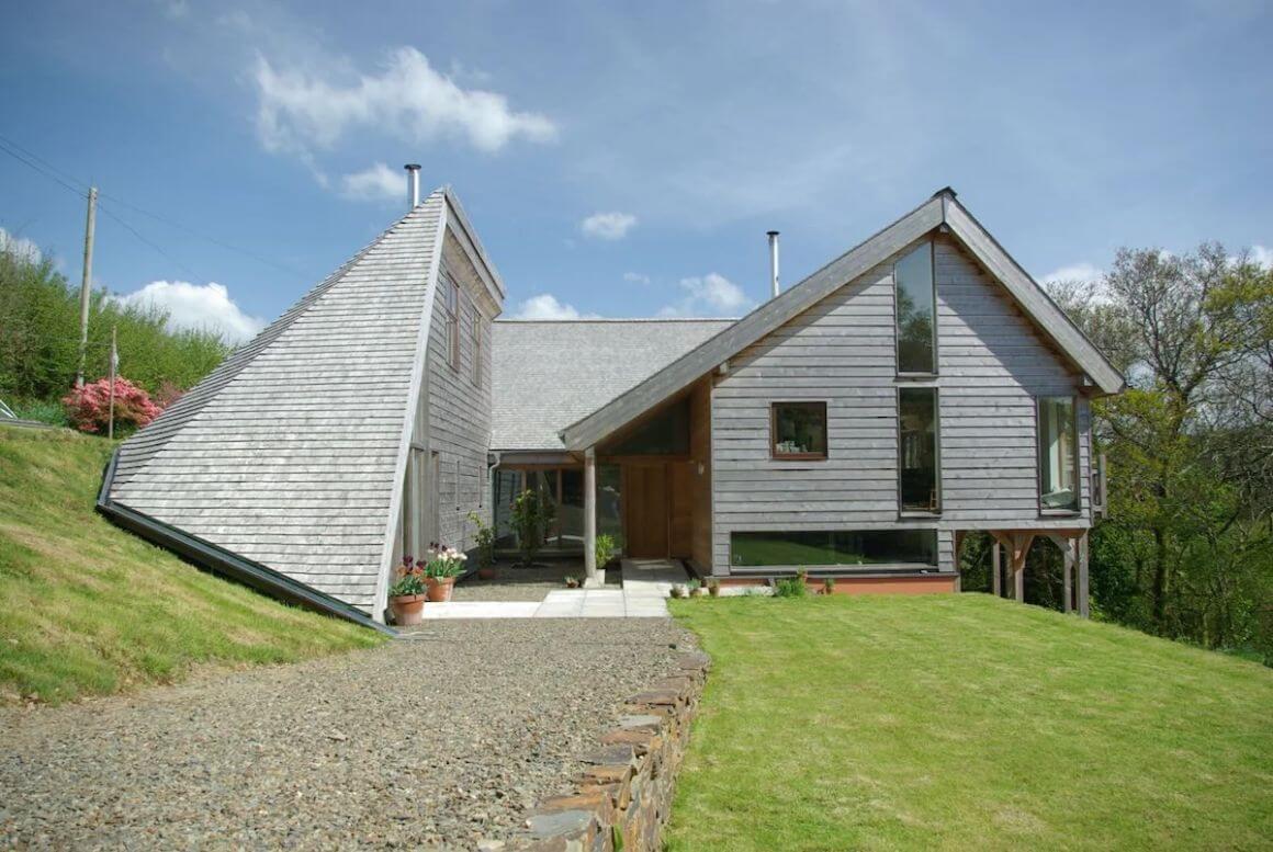 The Studio Burntwood Ecohouse Cornwall
