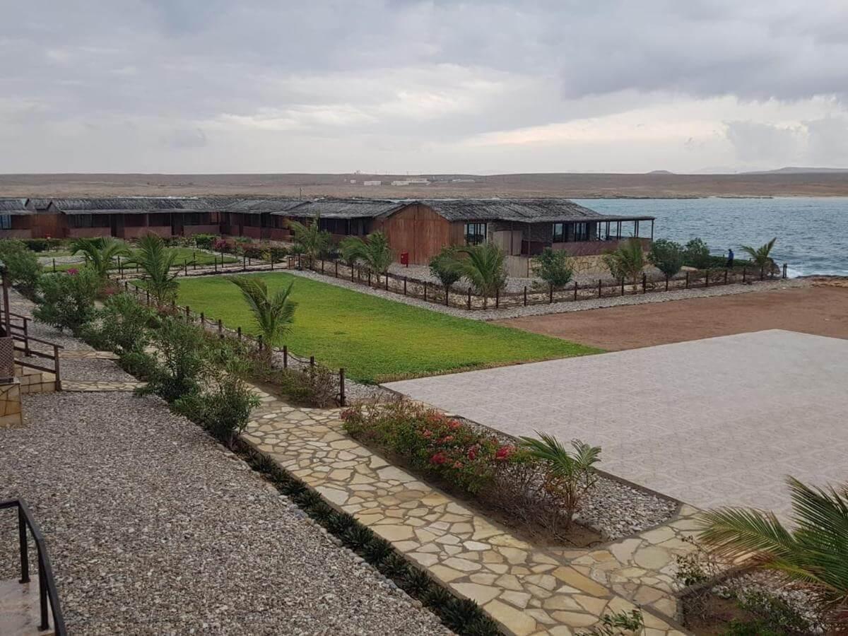 an exterior shot of the turtle beach resort near Oman's ras al jinz turtle center