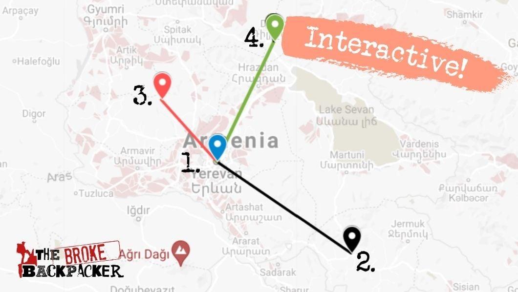 10 Day Armenia itinerary