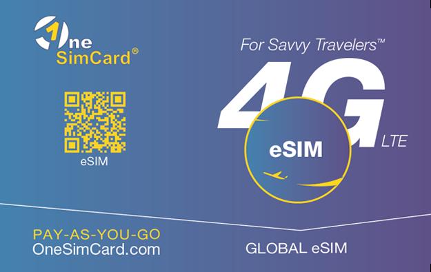 e-sim global from OneSim