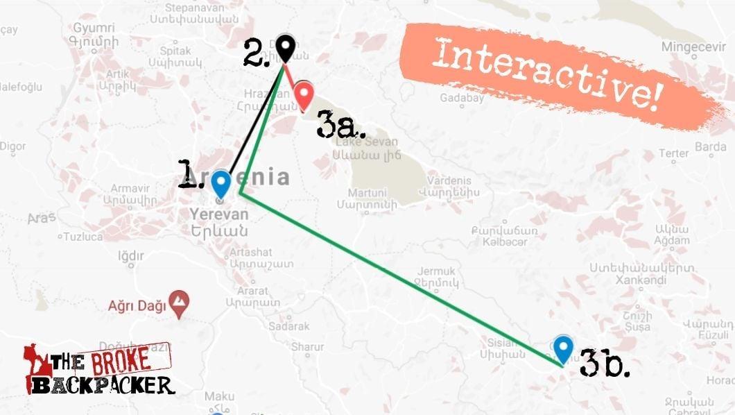 7 Day Armenia itinerary