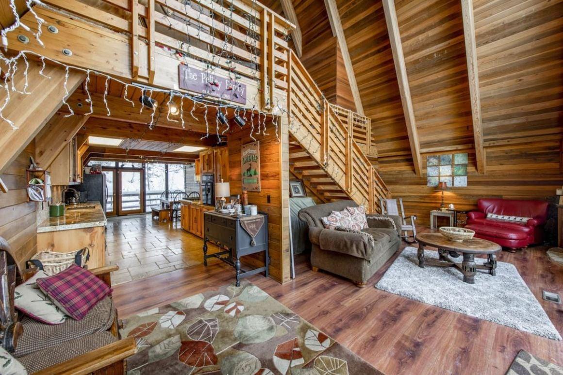 A-frame Park City Mountain Cabin