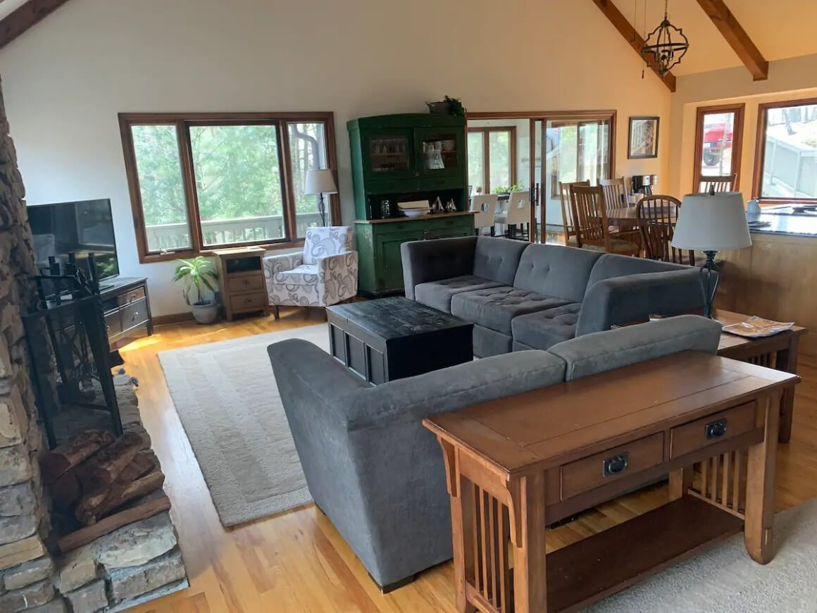 Accessible Mountain Home Close to Trails Sleeps 13