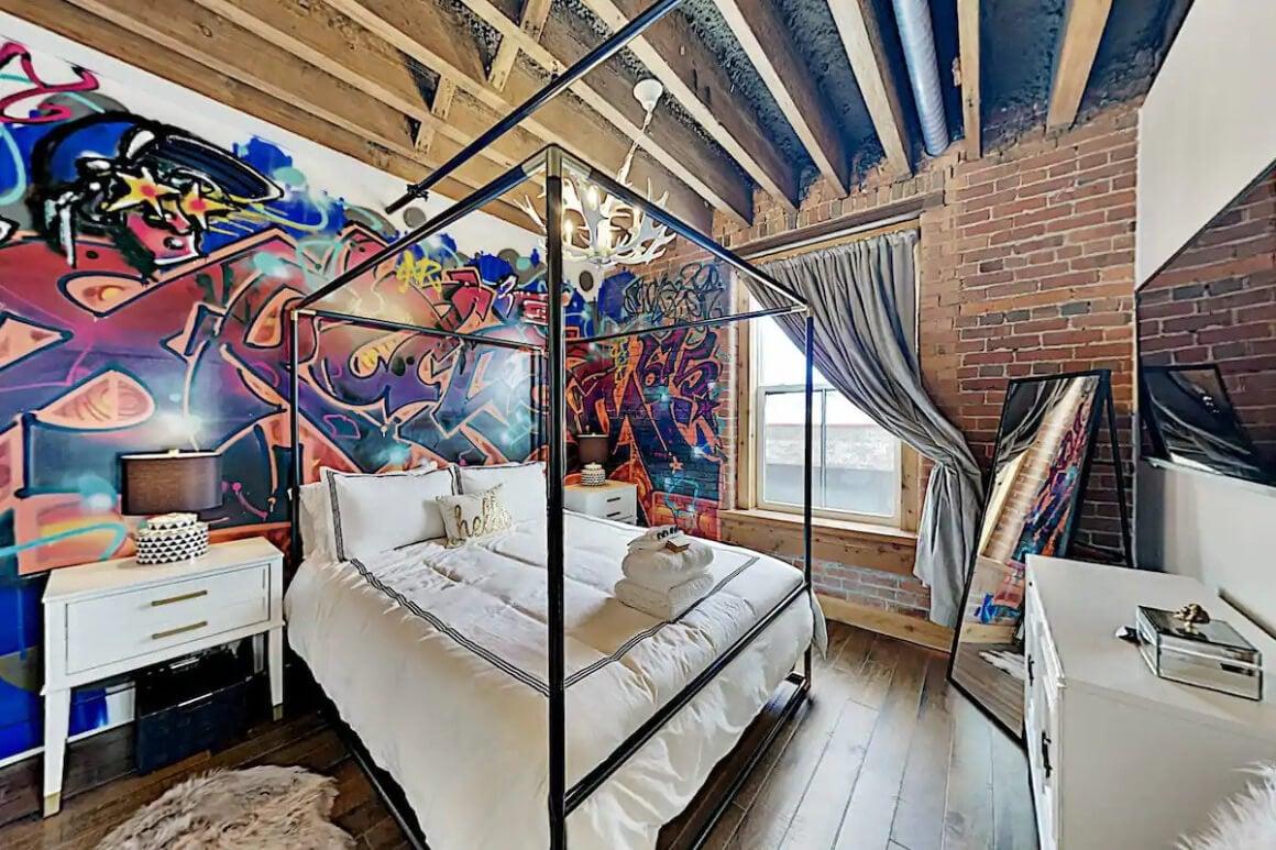 Artsy Industrial 1 Bed Condo