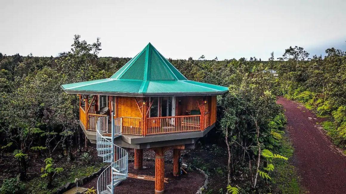 Bamboo Treehouse Big Island