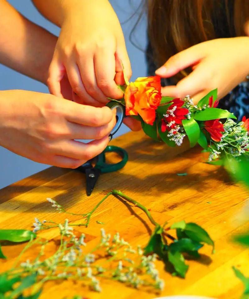 Bespoke Flower Crown Workshop Cardiff