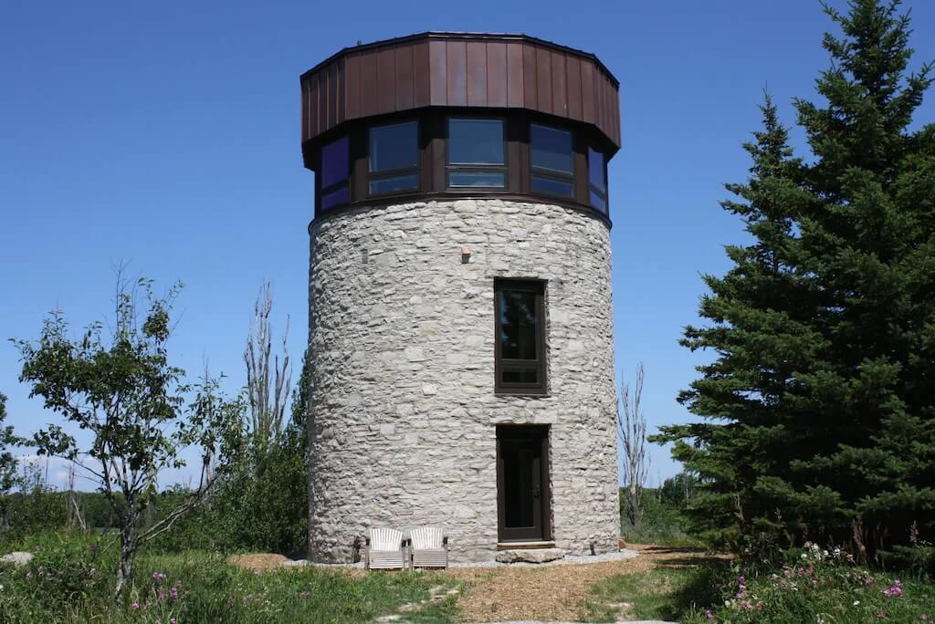 Cylindrical Tower