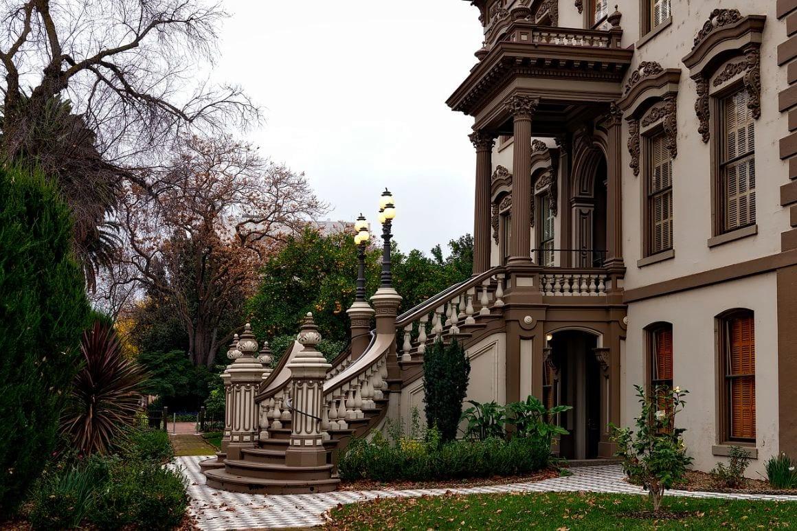 Downtown Sacramento Leland Stanford Mansion
