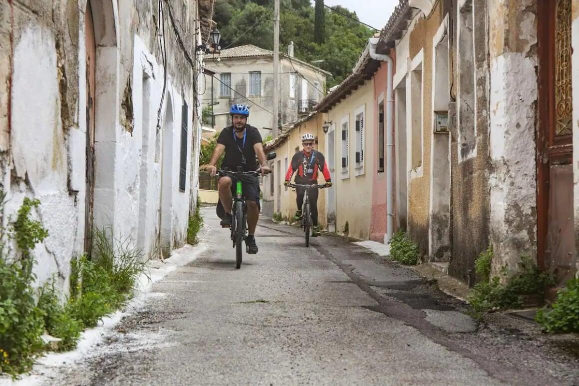 Explore Corfu by bike